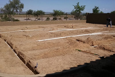 Sprinkler System Installation at Southwest Lawn Sprinkling Systems in Phoenix, Arizona